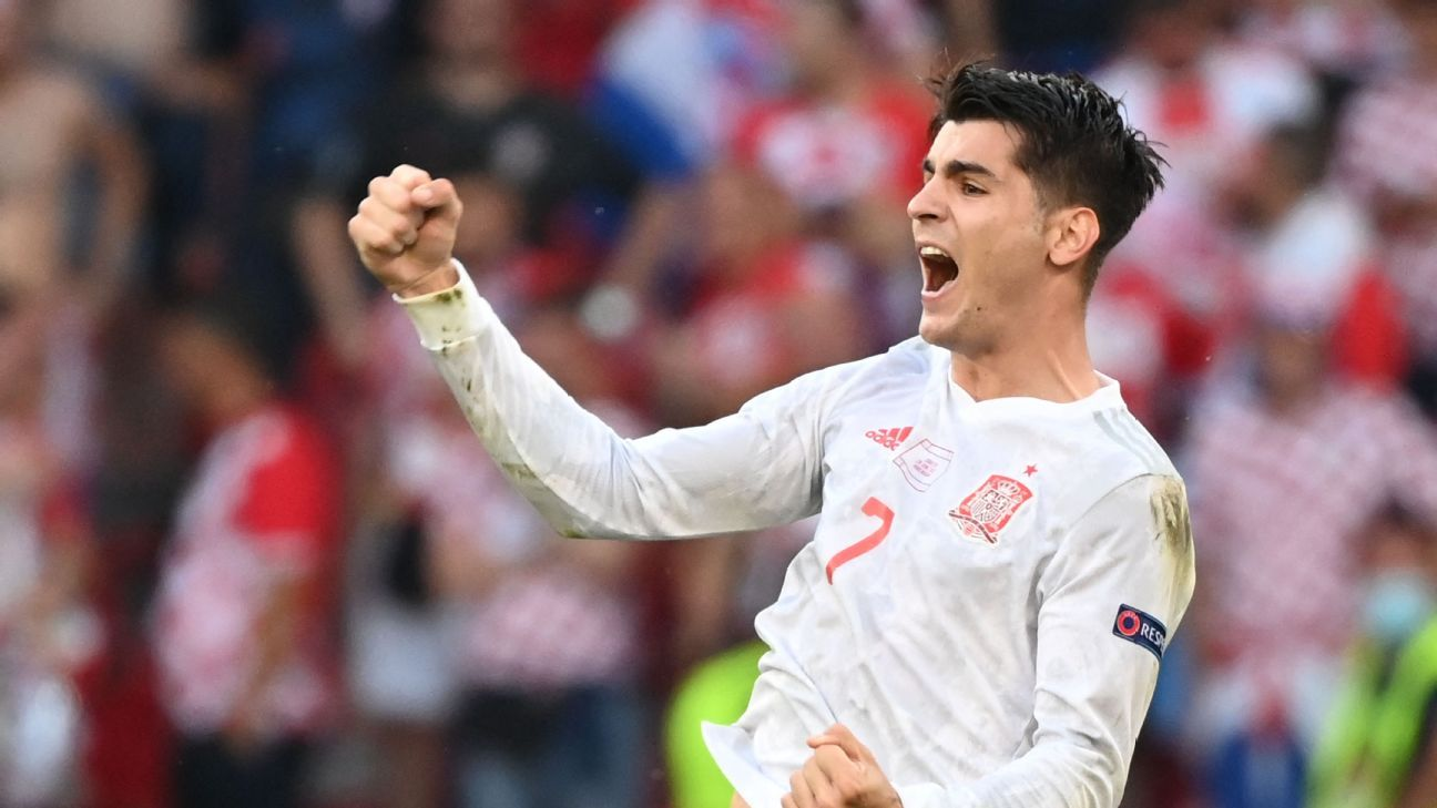 Spain again shows it won't be going away easily at Euro 2020