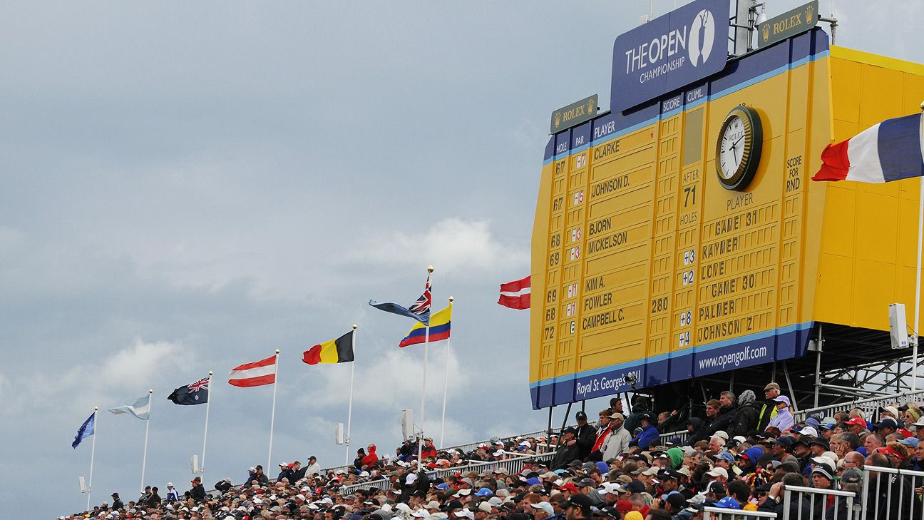 Golfers to face strict virus protocols at The Open