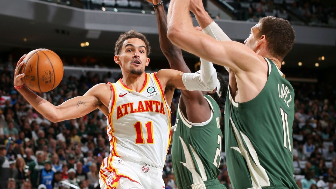 'Bold dude': Trae's swagger, 48 points lead Hawks