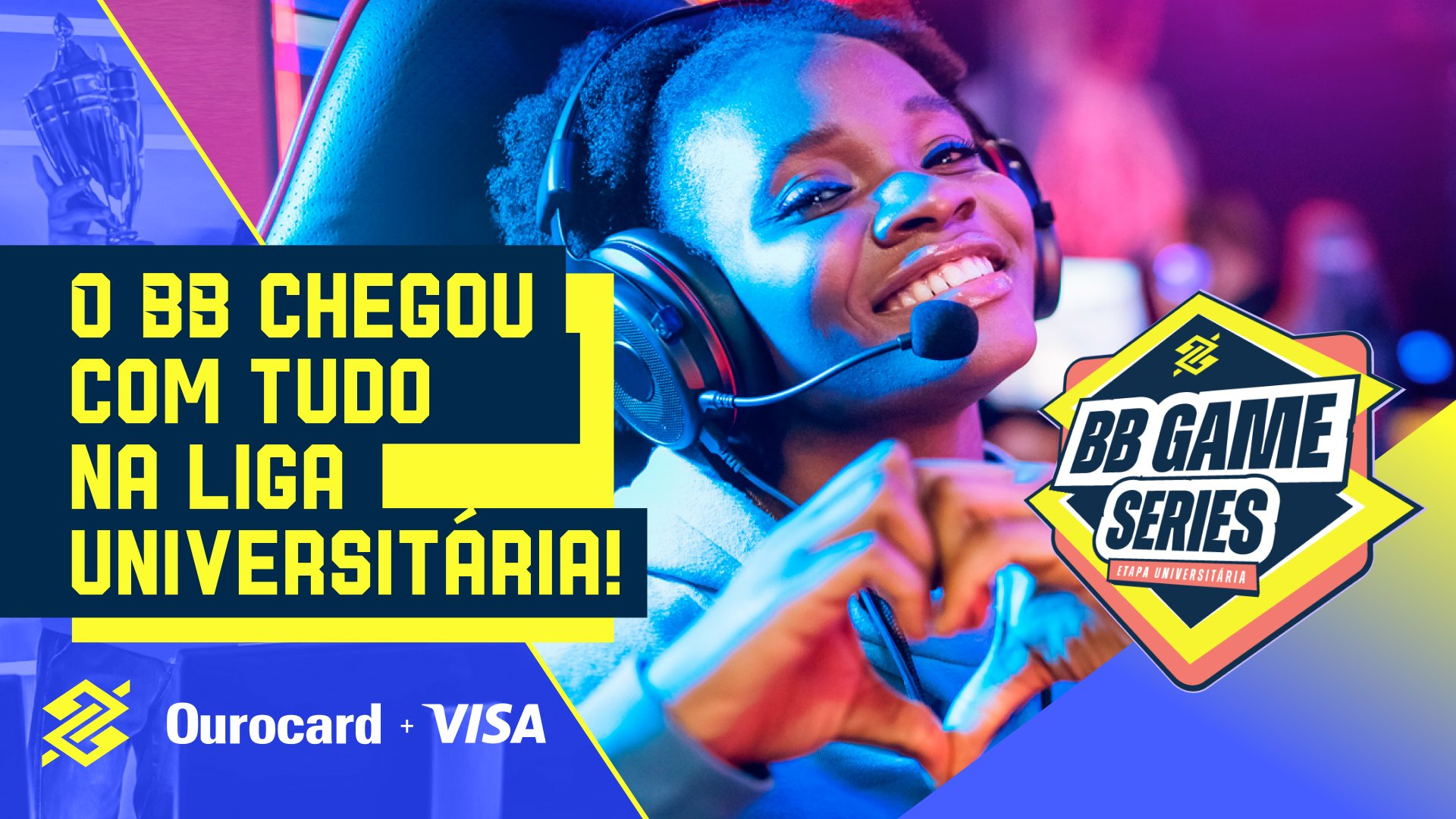 Esporte Banco do Brasil partners with Visa to launch BB Game Series