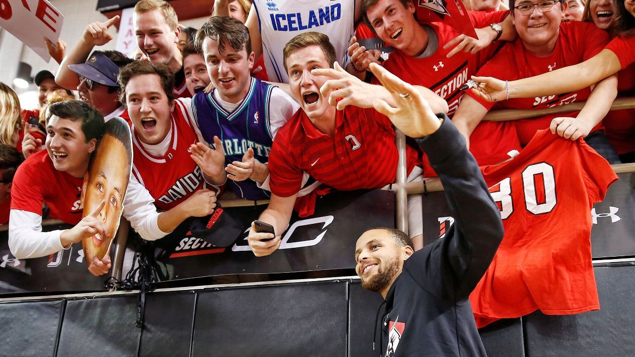 Curry starts fund for Davidson's female athletes