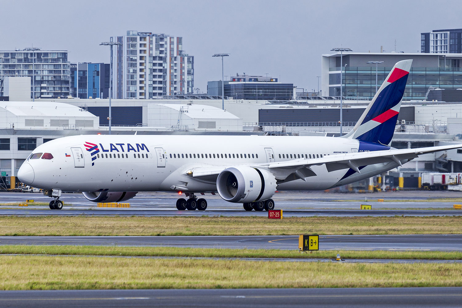 Esporte LATAM Brasil will use the Boeing 787-9 as a replacement for the A350