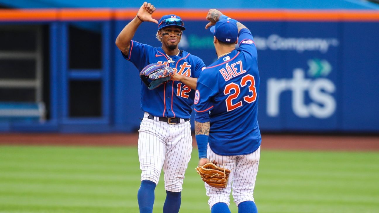 Lindor, Baez apologize to Mets fans for gestures
