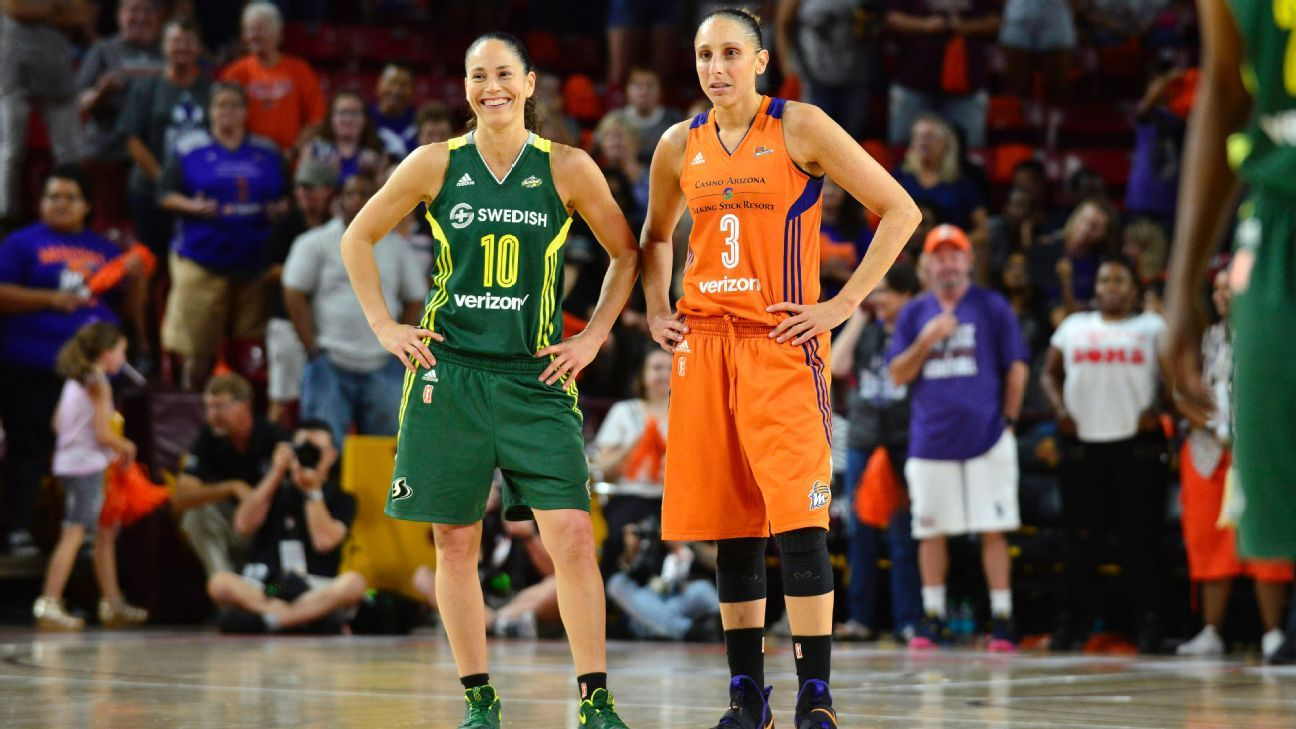 WNBA unveils list of top 25 players in its history