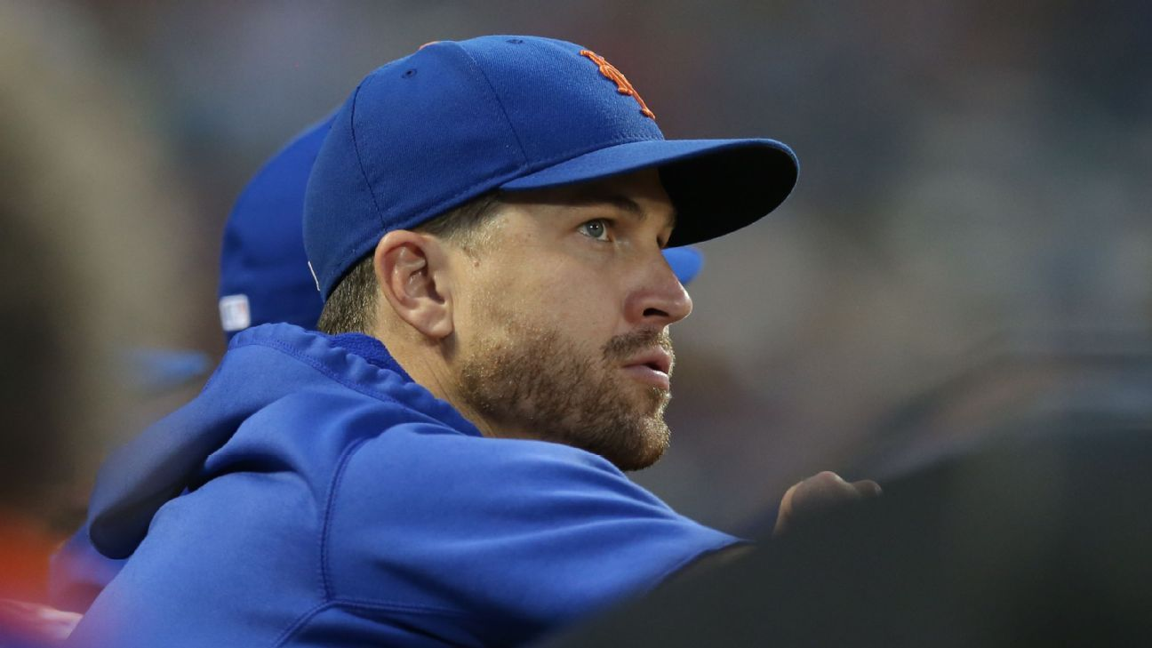DeGrom's elbow 'perfectly intact'; return unclear