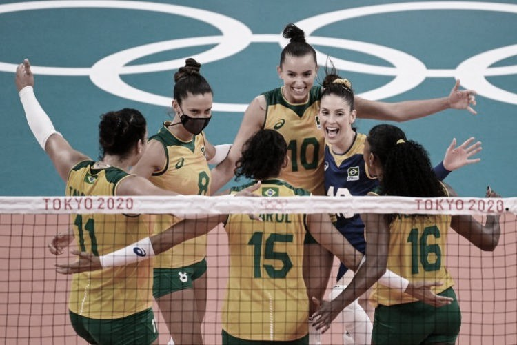 Esporte Sets and Highlights: Brazil 3-1 Russia in women's volleyball for the Tokyo Olympics