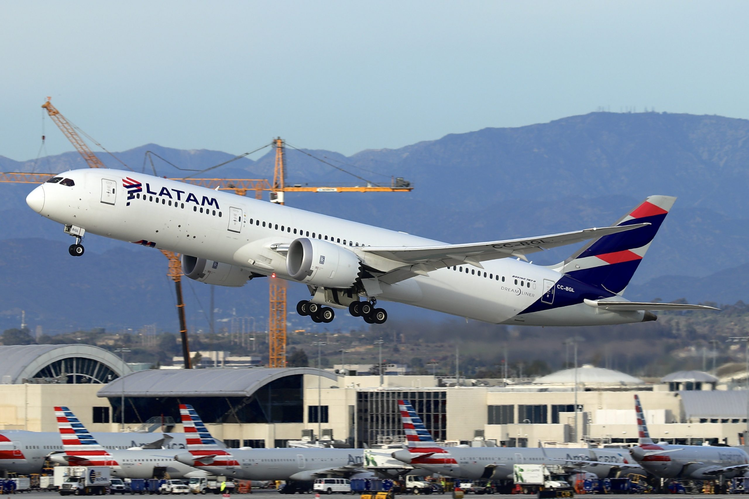 Esporte LATAM Brasil to Use Chilean 787s on Long-Haul Services