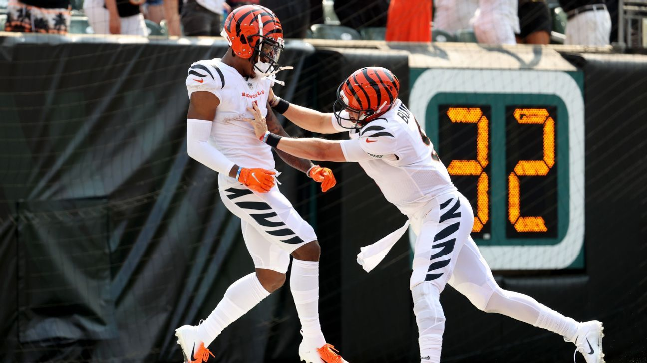 What drops? Bengals' Chase has big NFL debut