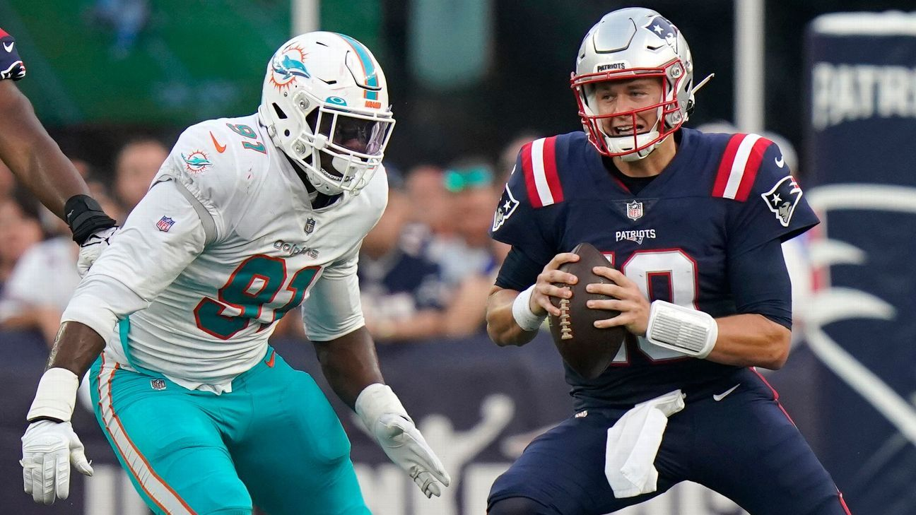 Mac impresses, but Pats lose: 'We can get better'