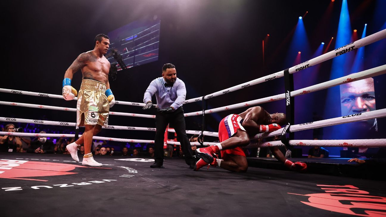 Celebrity fights have been fun, but Holyfield-Belfort crossed the line